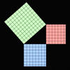 Pythagoras' Theorem animation
