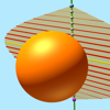 derive surface area of a sphere graphic