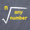 calculate any root for any number