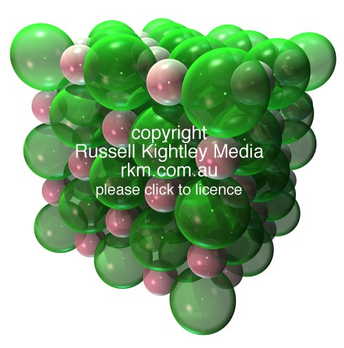 Salt Sodium Chloride Nacl Ionic Crystal